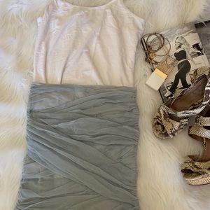 Super Hot!🔥Free People Spandex Cotton Mini Skirt